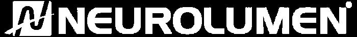 neurolumen logo and text white clear